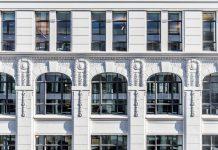 grossformatige Stahlfenster