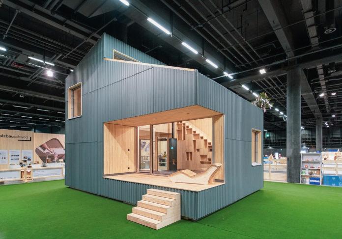 Holzbau Schweiz, Holz, Swissbau, Tiny House