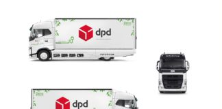 Umwelt, DPD, Pakettransport, e-LKW, Auto, Elektromobilität,